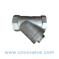 Threaded End Stainless Steel Y-Strainer