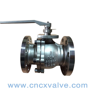 Flanged End Floating Ball Valve JIS10K
