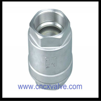 2pc Body Vertical Check Valve Threaded