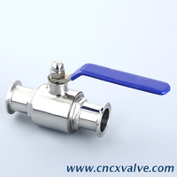 Sanitary Tri Clamp 2 Way Ball Valve
