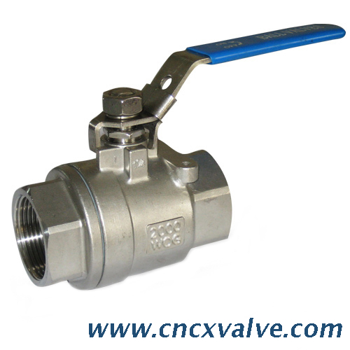 2pc Full Bore Stainless Steel 316 Male-female Threaded Ball Valve