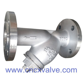 Flanged End Cast Steel Y-strainer
