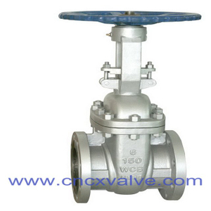 Flanged Cast Steel Gate Valve