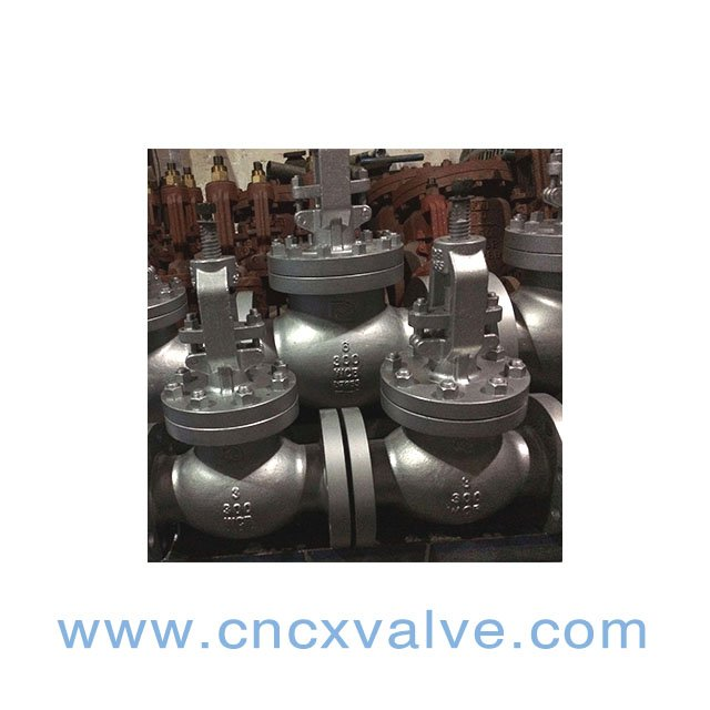 CX astm a216wcb globe valve