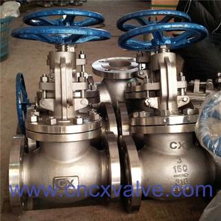 Flanged cast steel globe valve