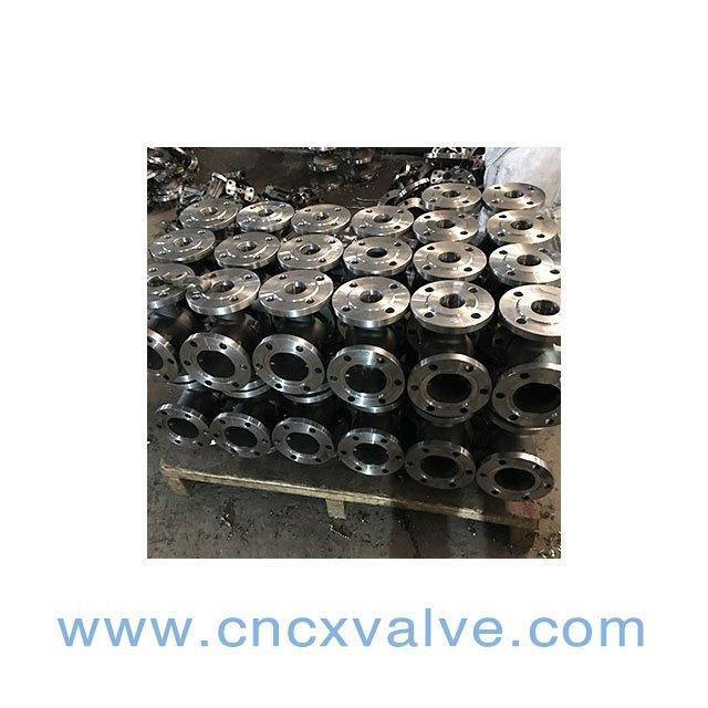 din gate valve bodies ready for assembling