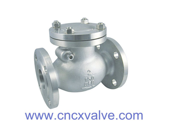 Flanged End Stainless Steel Swing Check Valve